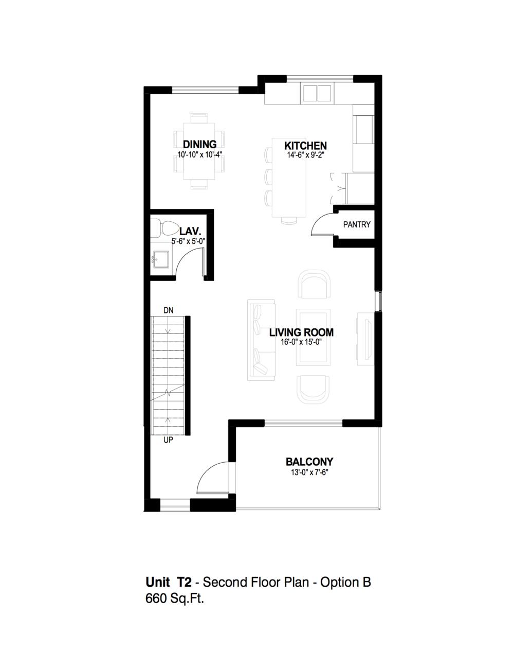 Strand T2 2nd floor option B