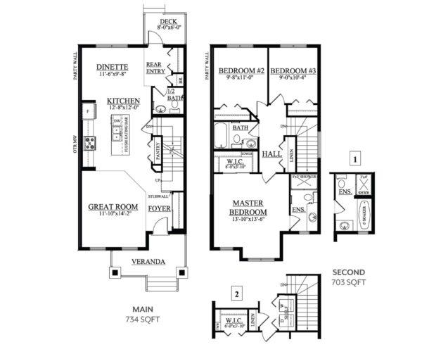 Gibson Albany Floor Plan
