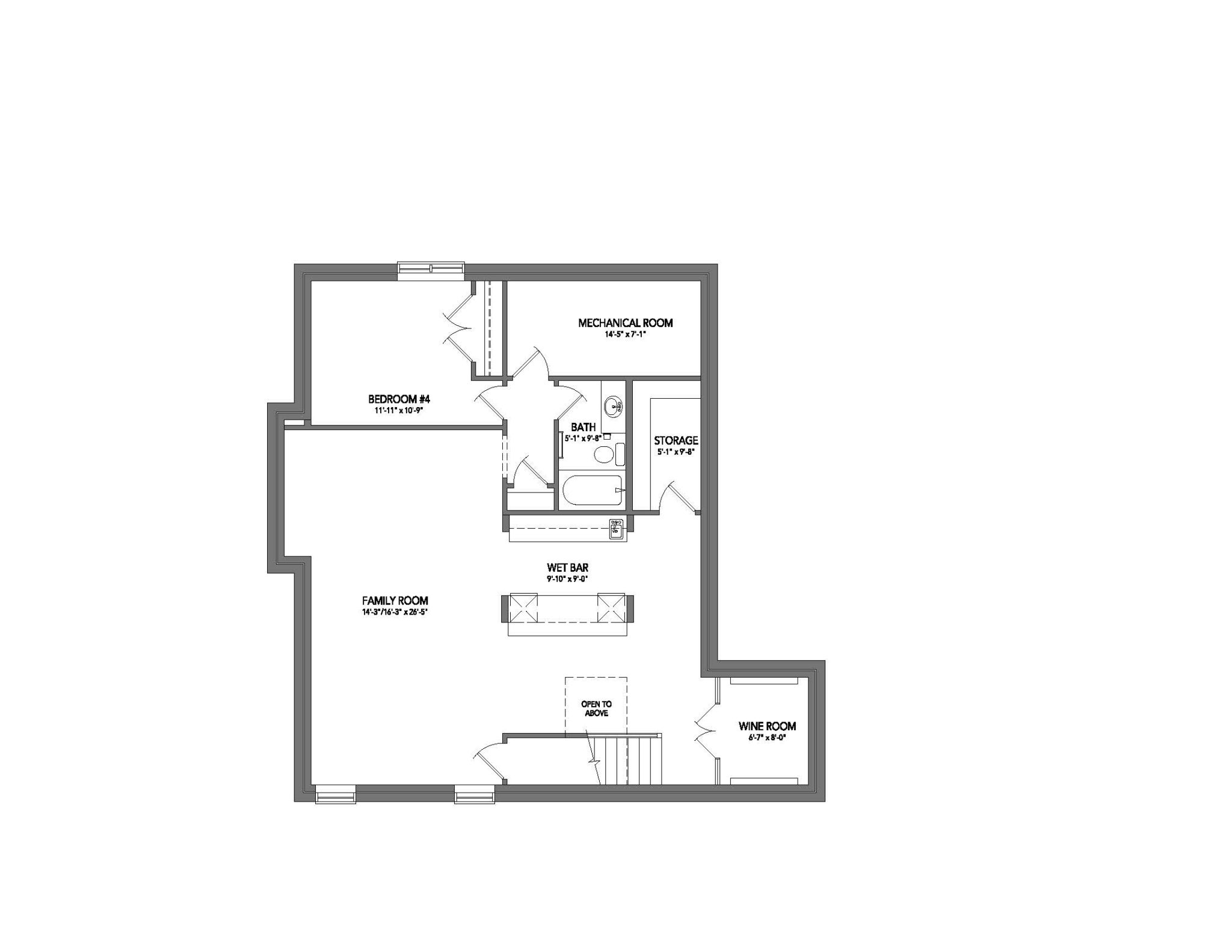 Floor Plan - Basement