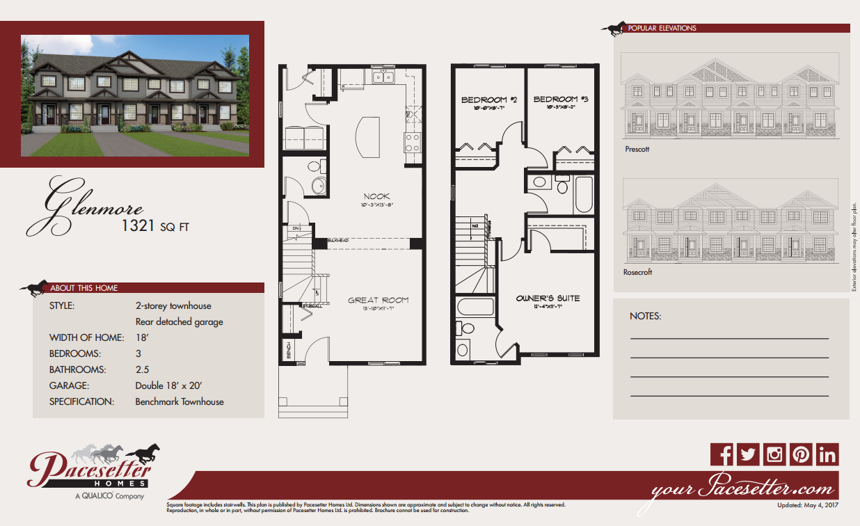 Floor Plan and Brochure
