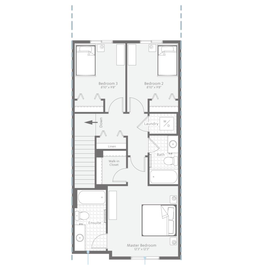 Floor Plan - Second