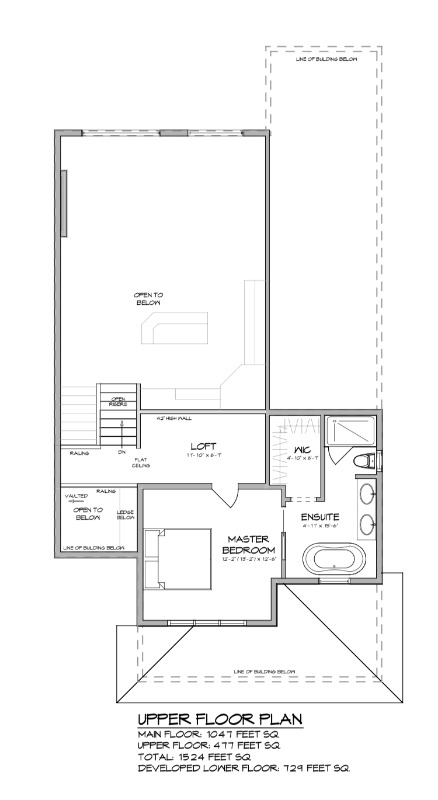 Floor Plan - Second