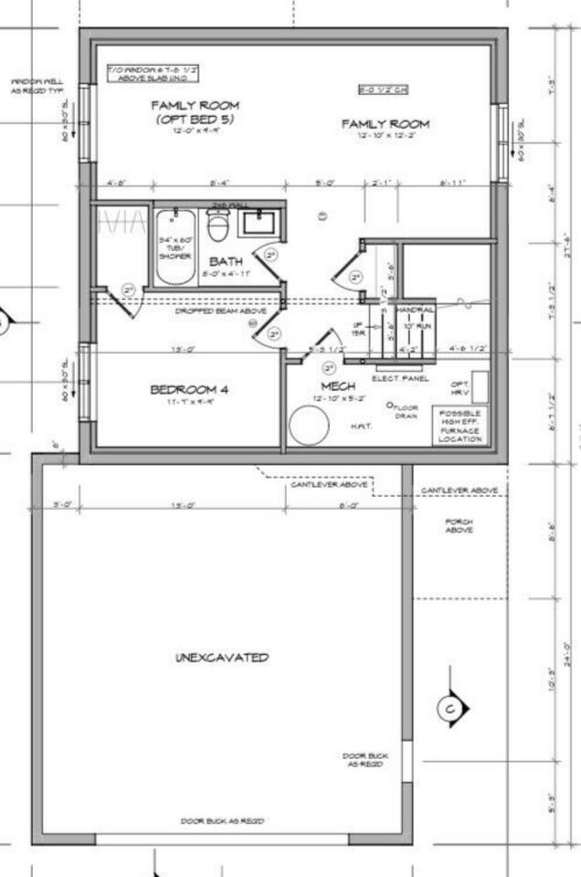 Floor Plan - Basement Layout